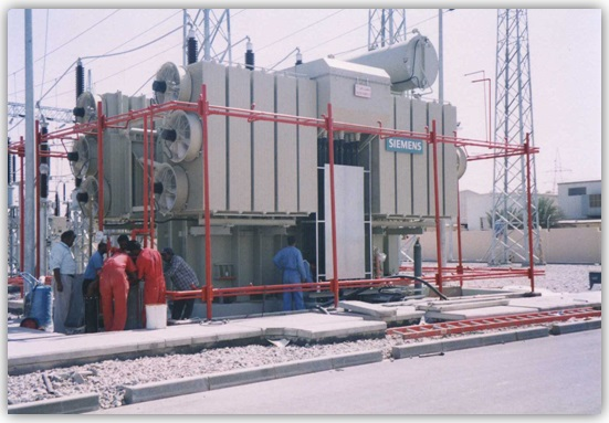 Transformer Fire Protection - Mudairib